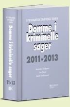 systematisk oversigt over domme i kriminelle sager 2011-2013 - bog
