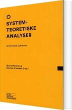 systemteoretiske analyser - bog
