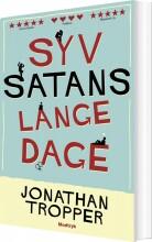 syv satans lange dage - bog