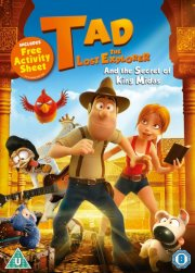 tad the lost explorer - and the secret of king midas - DVD