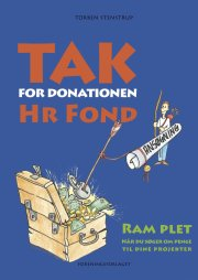 tak for donationen, hr. fond - bog