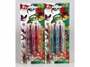 glitter tattoo gel pens - 3 stk - Kreativitet