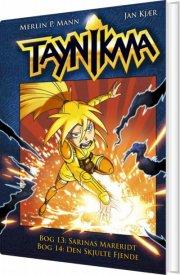 taynikma (13-14): sarinas mareridt & den skjulte fjende - bog