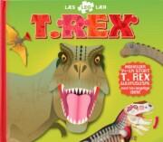 t-rex, læs leg lær - bog