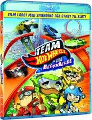 team hot wheels: en vild begyndelse - Blu-Ray