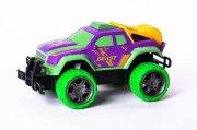 techtoys fjernstyret bil - gallop beast off-road 1:18 i lilla/grøn - Fjernstyret Legetøj