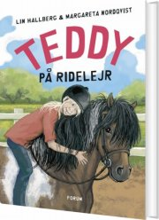 teddy på ridelejr - bog
