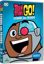 teen titans go - cyborg and friends - DVD