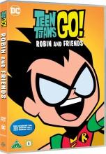 teen titans go - robin and friends - DVD