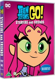 teen titans go - starfire and friends - DVD