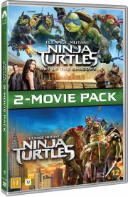 teenage mutant ninja turtles 1+2 - DVD