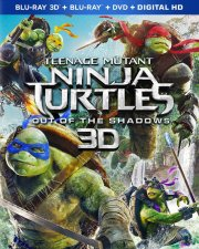 teenage mutant ninja turtles: out of the shadows - 3D Blu-Ray