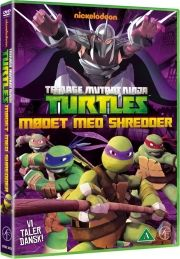 tmnt teenage mutant ninja turtles vol. 2 - mødet med shredder - DVD
