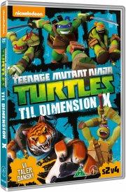 tmnt teenage mutant ninja turtles vol. 8 - into dimension x - DVD