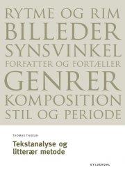 tekstanalyse og litterær metode - bog