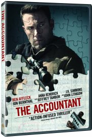 the accountant - 2016 - DVD