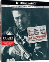the accountant - 2016 - 4k Ultra HD Blu-Ray