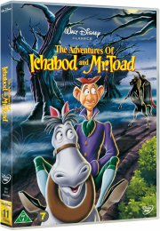 hr. tudse og søvnigdalens legende / the adventures of ichabod and mr. toad - disney - DVD