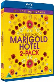 the best exotic marigold hotel // the second best exotic marigold hotel - Blu-Ray