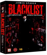the blacklist - sæson 1-3 - Blu-Ray