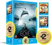 the cove / infestation / casino jack  - Blu-Ray