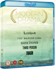 the danish girl // boyhood // trash // third person // the water diviner - Blu-Ray