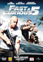 fast and furious 5 - DVD