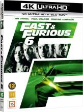 fast and furious 6 - 4k Ultra HD Blu-Ray