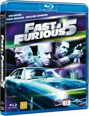 fast and furious 5 - Blu-Ray