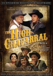 the high chaparral - boks 6 - DVD
