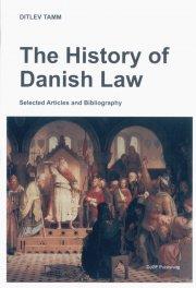 the history of danish law - bog
