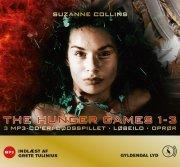 the hunger games 1-3 - CD Lydbog