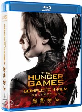 the hunger games 1-4 box set - Blu-Ray