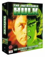 the incredible hulk - den komplette serie - DVD