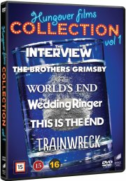 trainwreck // this is the end // the interview // the brothers grimby // the wedding ringer // the world's end - DVD