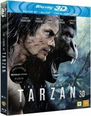 the legend of tarzan  - 3d + 2d Blu-Ray
