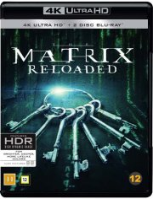 the matrix reloaded - 4k Ultra HD Blu-Ray