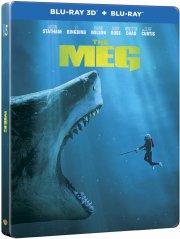 the meg - steelbook - 3D Blu-Ray