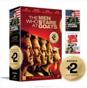 the men who stare at goats // buffalo soldiers // lesbian vampire killers - DVD