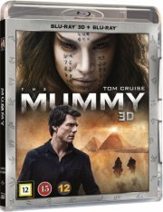 the mummy - 2017 - 3D Blu-Ray