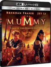 the mummy 3: tomb of the dragon emperor - 4k Ultra HD Blu-Ray