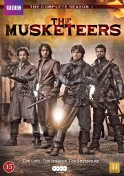 the musketeers - sæson 1 - DVD