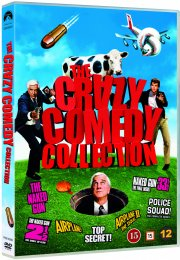 the naked gun 1-3 // airplane 1-2 // top secret! // police squad - DVD