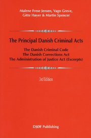 the principal danish criminal acts - bog
