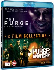 the purge 1 + the purge 2 - anarchy - Blu-Ray