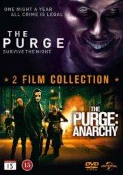 the purge 1+2 - boks - DVD