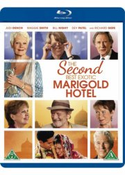the second best exotic marigold hotel - Blu-Ray