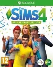 the sims 4 (nordic) - deluxe party edition - xbox one