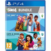 the sims 4 & the sims cats & dogs bundle - PS4