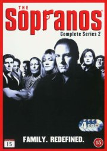 the sopranos - sæson 2 - hbo - DVD